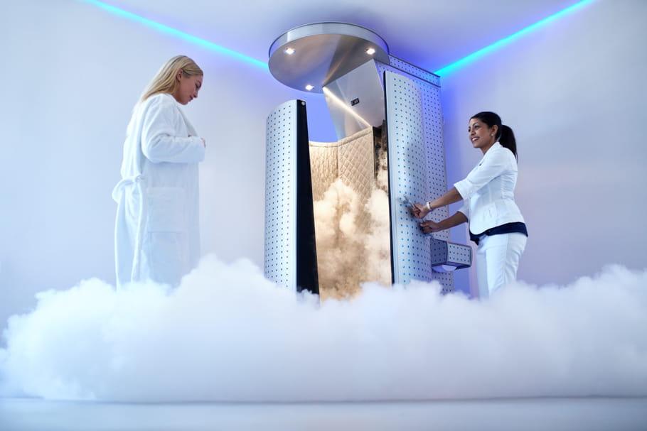Cryothérapie: bienfaits, déroulés des séances, prix