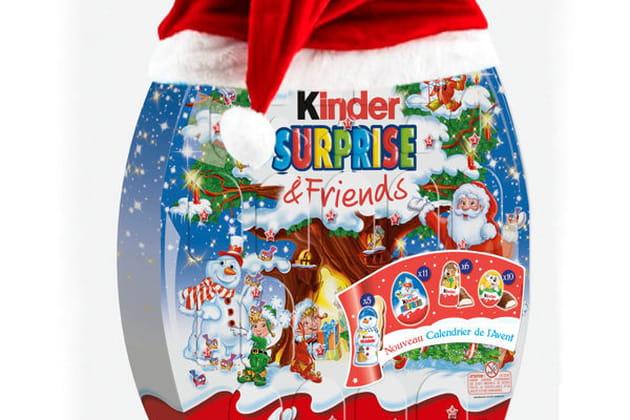 Calendrier de l'Avent Surprise & Friends de Kinder