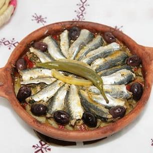 tajine de sardines à la chermoula