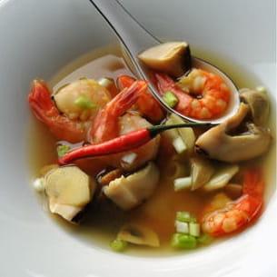 soupe de crevette au galanga