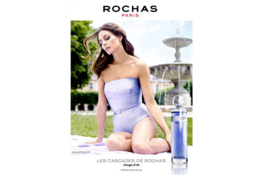 Les Cascades de Rochas Songe d'Iris, le nouveau parfum signé Rochas