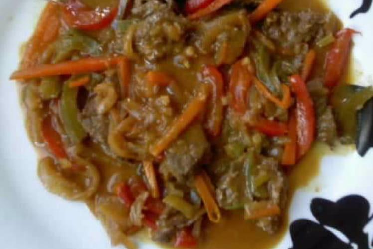 Boeuf à la sauce satay