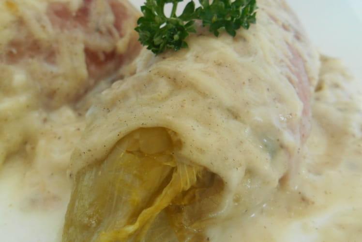 Endives au jambon traditionnelles - Cuisiner endives au jambon ...