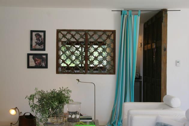 Un salon d'inspiration indienne