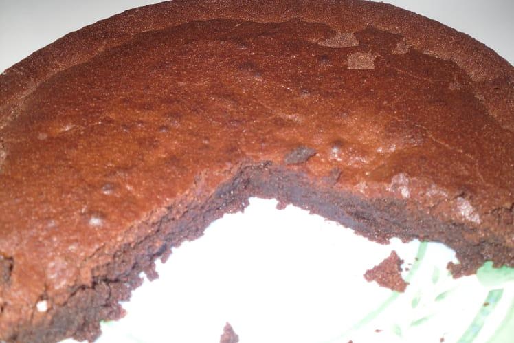 Moelleux au chocolat tout bête