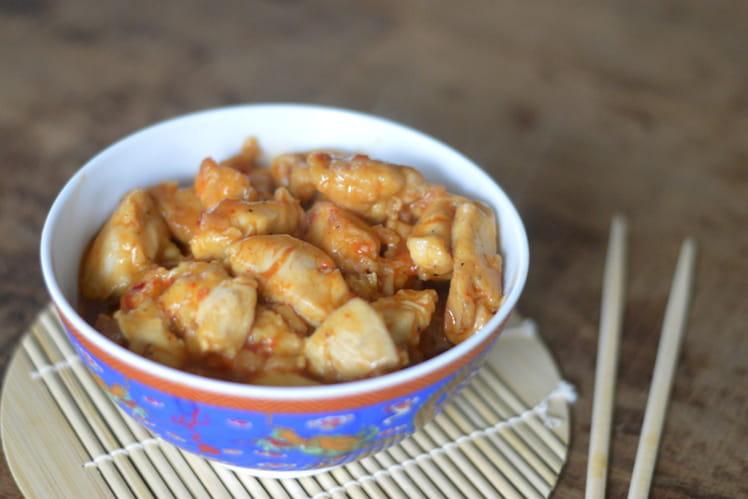 Poulet aigre-doux pour le Nouvel An Chinois