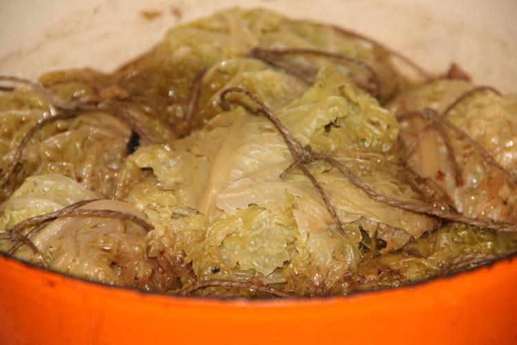 Choux farcis du Limousin