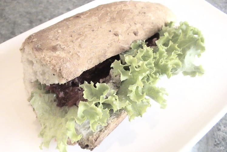 Sandwich à la terrine de canard