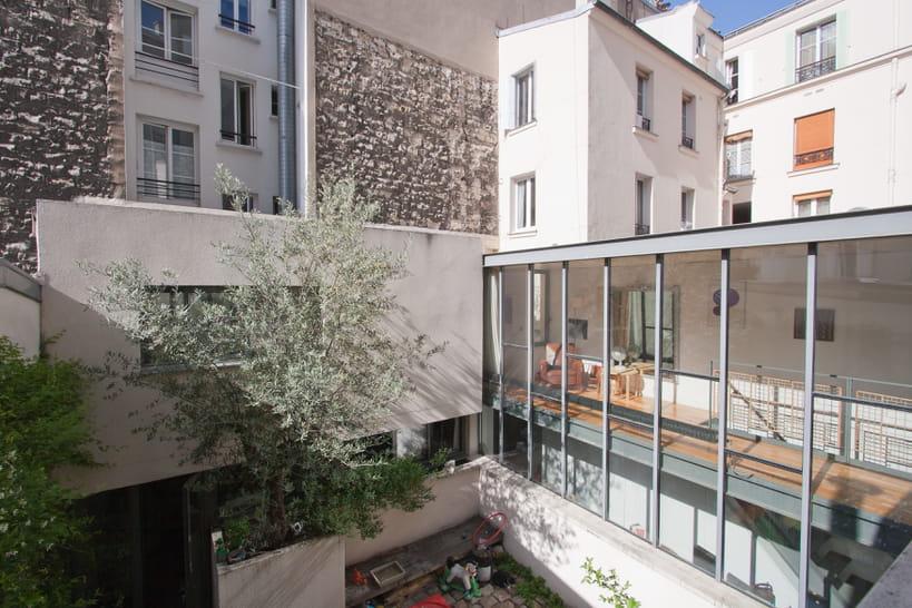 Maison avec patio dans Paris