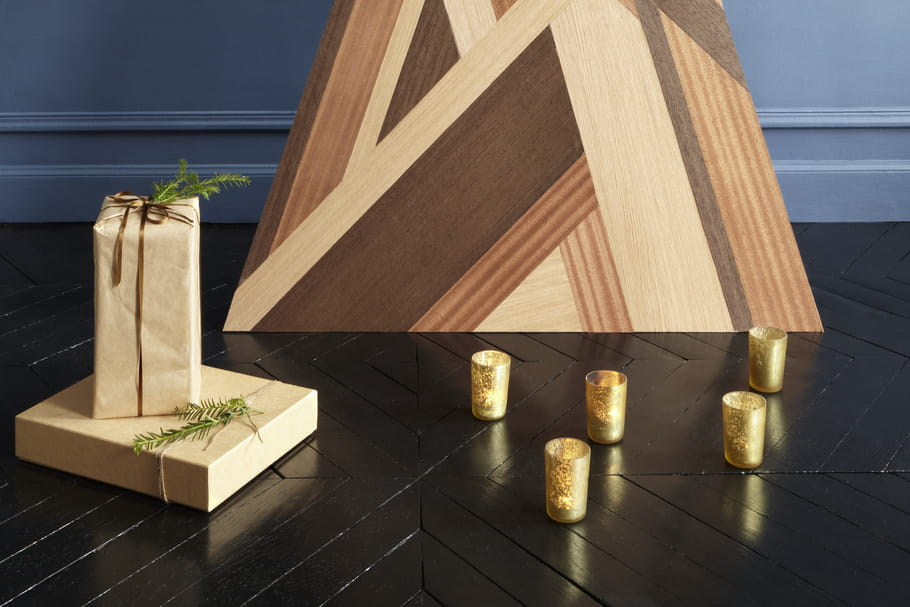 diy fabriquer un sapin de no l en bois fa on marqueterie. Black Bedroom Furniture Sets. Home Design Ideas
