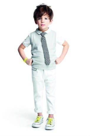 tenue blanche okaidi