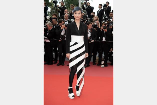 Li Yuchun en Jean Paul Gaultier Couture