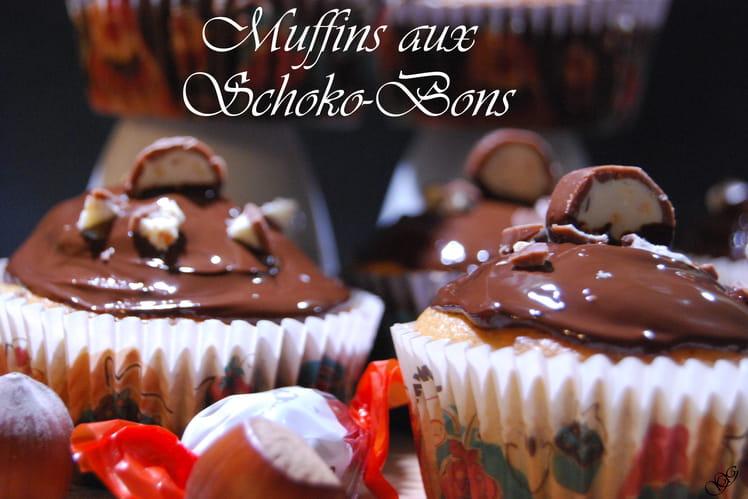 Muffins aux bonbons Schoko-Bons