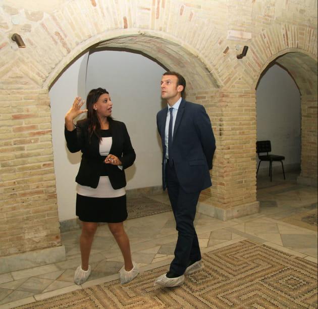 Emmanuel Macron, touriste attentif
