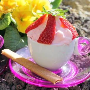 mousse à la fraise