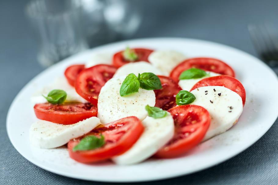 Comment couper facilement la mozzarella?