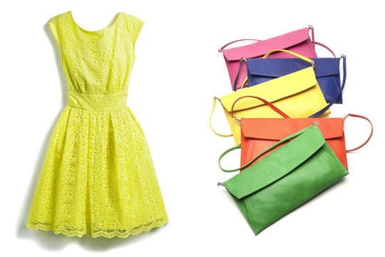 Des accessoires colorés
