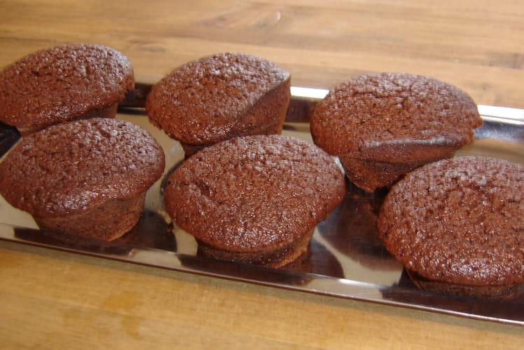Muffins poires-choco-amandes
