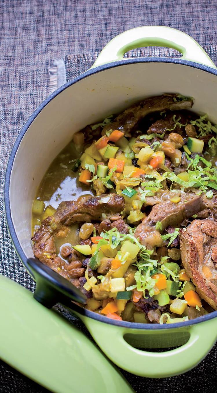 Recette de curry d 39 agneau l indienne la recette facile - Cuisiner poitrine d agneau ...