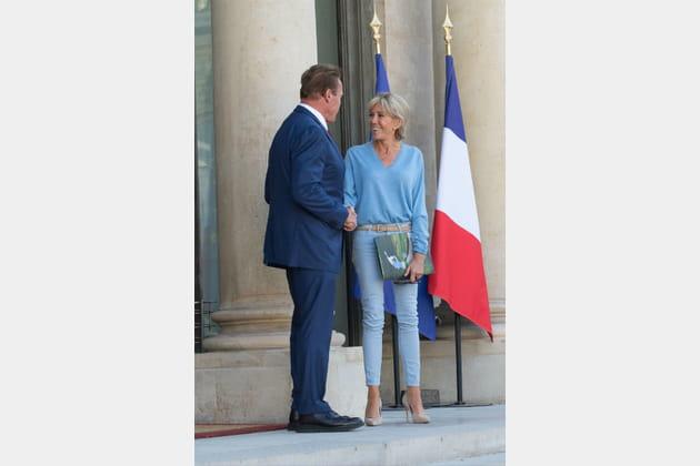 Brigitte Macron le 23juin 2017