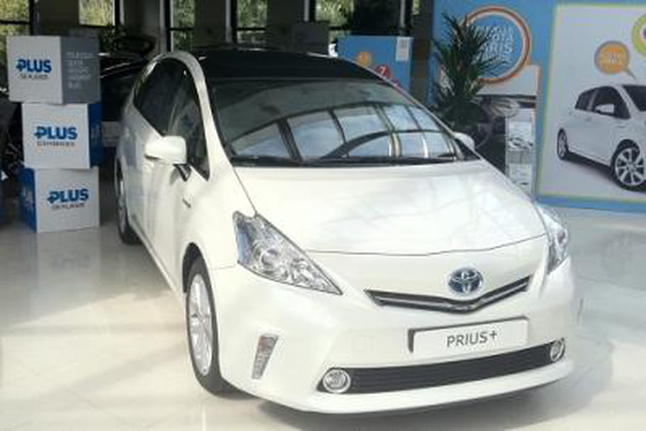 J'ai testé la Toyota  Prius+ hybride essence