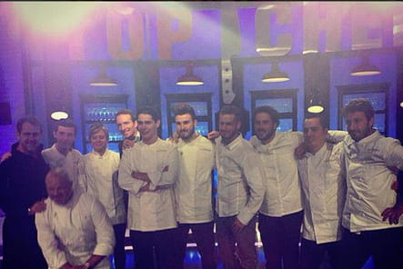 Top Chef : les candidats en mode selfie
