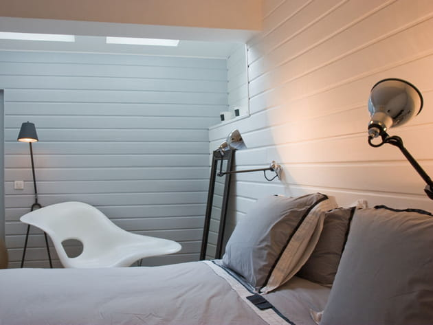 Chambre blanche moderne