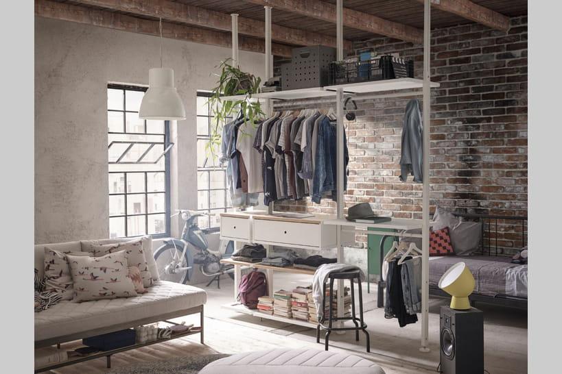 Dressing Ikea: 20modèles bien pratiques