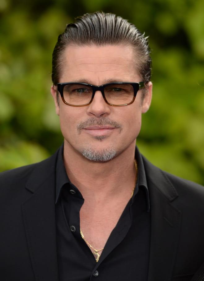 Brad Pitt avec une barbe