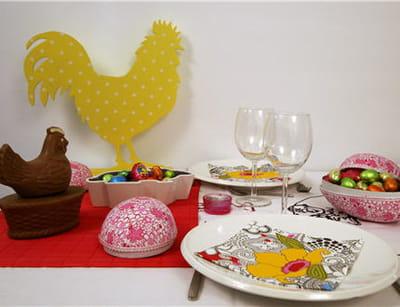 une table aux couleurs de l'été