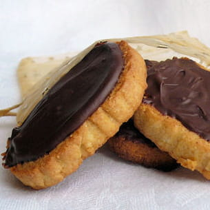 biscuits à la polenta au chocolat