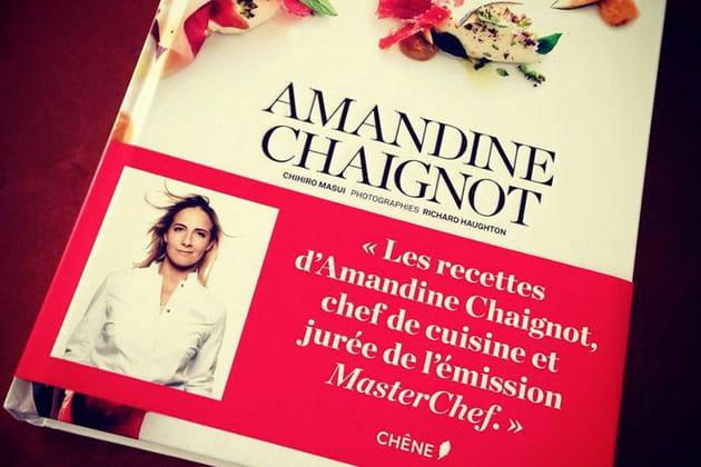 Amandine Chaignot lance son livre de recettes