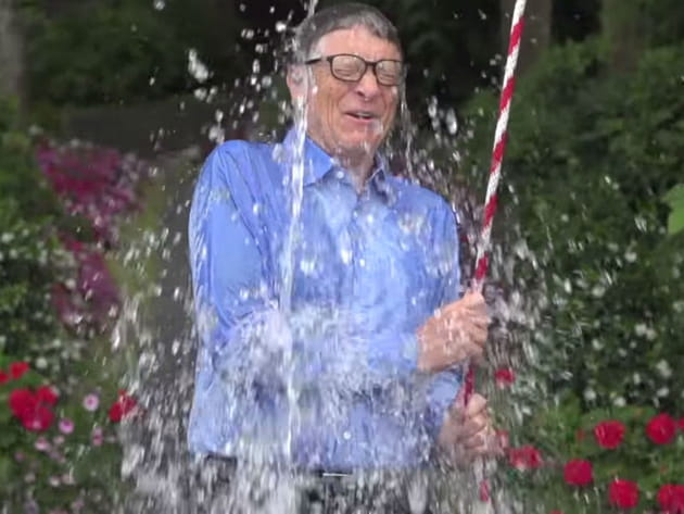 Bill Gates Ice Bucket