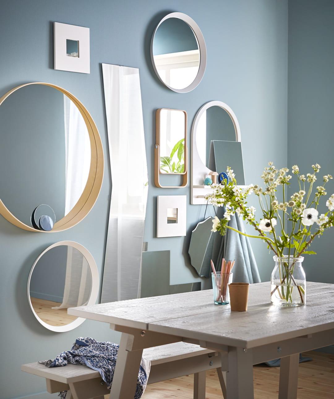 A Quelle Hauteur Poser Une Verriere comment et où placer un miroir dans une pièce ?