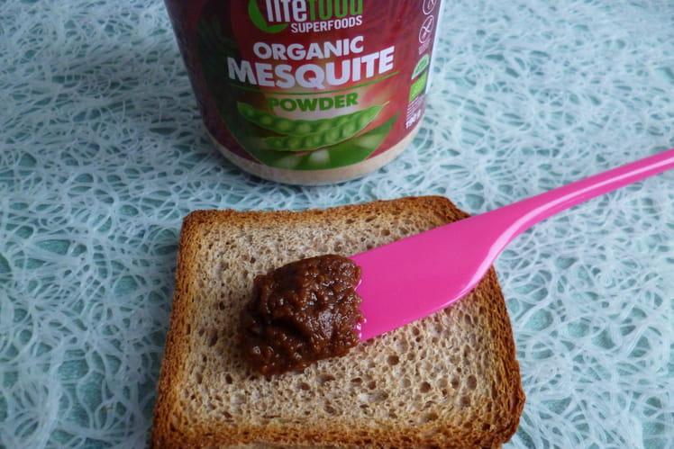 Tartinade 100% crue à la mesquite et au beurre de cacao