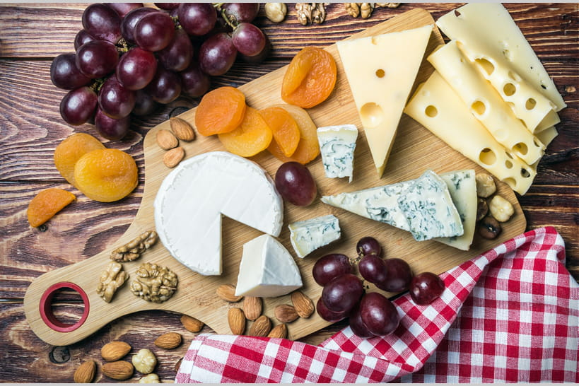 65recettes avec des fromages français
