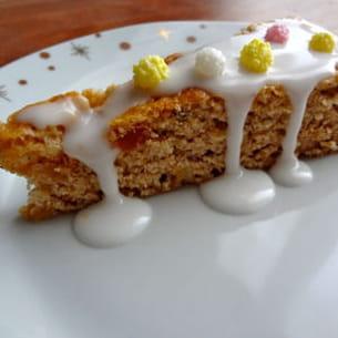 gâteau aux épices de noël sans œufs