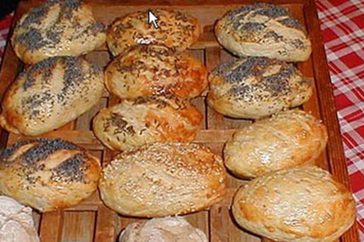 Moricettes (petits pains salés)