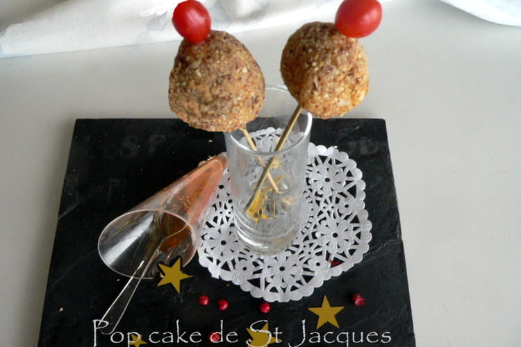 Pop cake à la St-Jacques