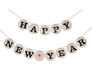 guirlande happy new year par renna-deluxe sur dawanda