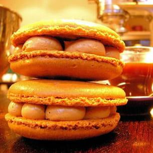 macarons au café