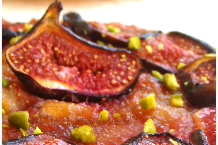 Tarte fine aux figues et aux pommes