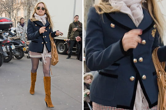 Fashion week : les street looks des défilés parisiens PAP automne-hiver 2011-2012 39