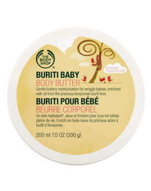 beurre corporel buriti pour bébé the body shop