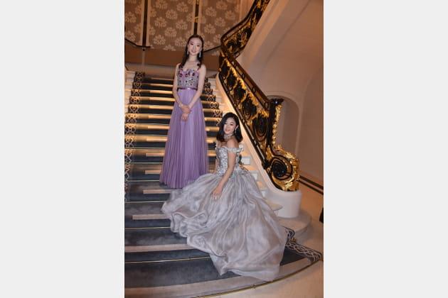La danseuse Yu Hang et Donna Yuan