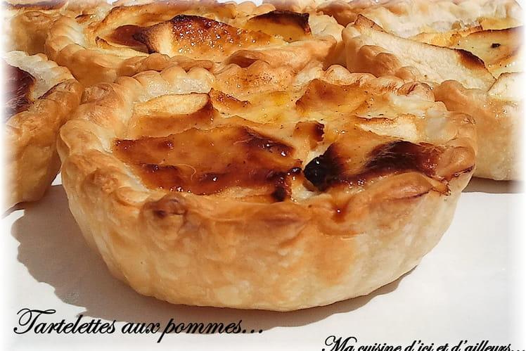 Tartelettes aux pommes à la ricotta