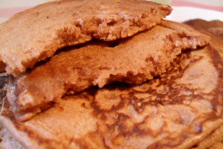 Pancakes cacao-amande
