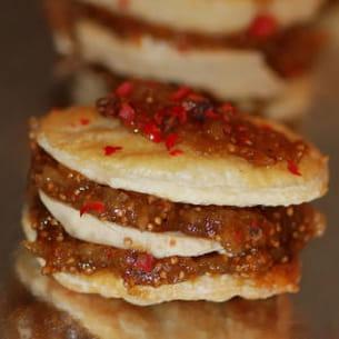 mille-feuille de foie gras et figues