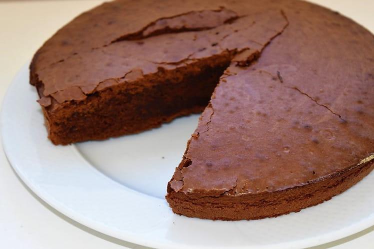 Moelleux amandes chocolat châtaigne (sans gluten)
