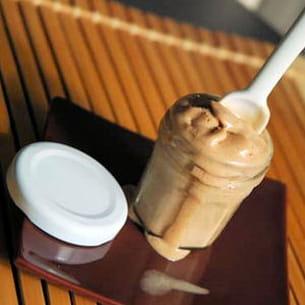 glace au praliné facile (sans crème anglaise)